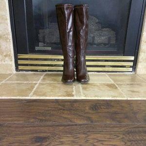 St John's Bay Fall/Winter Dress Boots (M) Brown